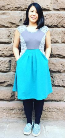 Serene's Zadie dress - sewing pattern by Tilly and the Buttons