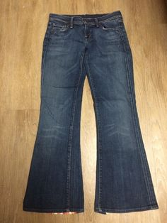 Citizens Of Humanity Women's Jeans With Fabric Stripes Ingrid #002 Size 26 #CitizensofHumanity #BootCut
