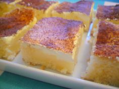 Czech Desserts, Sweet And Salty, Sweet Recipes, Sweet Tooth, Cheesecake, Food And Drink, Sweets, Baking, Pastries