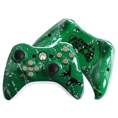 Xbox 360 Rechargeable Wireless Gunner Controller w Evil D Pad Brand New   eBay