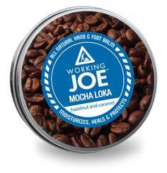 Working Joe Mocha Loka - all natural hand & foot repair. Hazelnut and caramel. Animals For Kids, Dog Bowls, Mocha, Caramel, Moisturizer, Skin Care, Natural, Products, Sticky Toffee