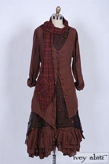 Bohemian/steampunk clothing - great catalog of ideas