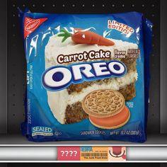Carrot Cake Oreos ???