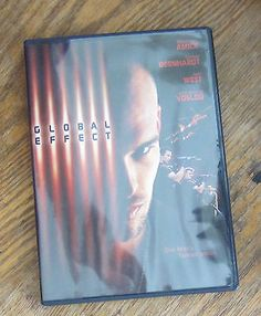 Global Effect (DVD, 2003) Madchen Amick, Daniel Bernhardt, Joel west, Arn Vosloo