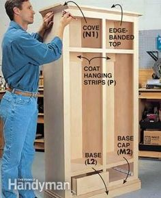 Building Cabinets With Pocket Screws: The Family Handyman