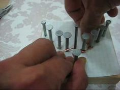 DIY jewelry making jig Tutorial - How to make Necklace Component with your own jig