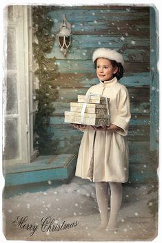 """Фотография из фотоальбома: Детский мир / """"Christmas Postcard"""" - на фотосайте Турбофото"""