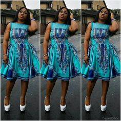 Glow In These Latest, Gorgeous Ankara Fashion and Styles - Wedding Digest NaijaWedding Digest Naija African Attire, African Wear, African Women, African Style, African Print Dresses, African Dress, African Clothes, African Prints, Ankara Fashion