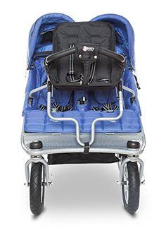 A stroller to accomodate three.  Three!!