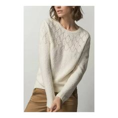 Sweatshirt with Openwork Detail - US$27.95 -YOINS ($56) ❤ liked on Polyvore featuring tops, hoodies, sweatshirts, side slit top, shirts & tops, long sleeve shirts, long sleeve sweatshirt and knit shirt