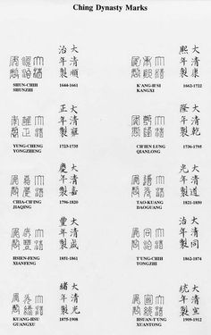 How to Identify Genuinity Of Chinese Pottery Marks