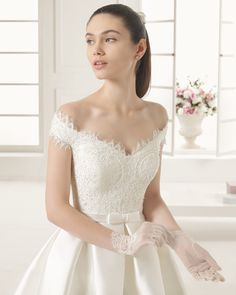 EMILIA - Rosa Clara 2016 wedding dress #weddingdress #Wedding