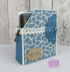 Crafter's Companion USA Information Blog : Magazine Files with the Downton Abbey Papercrafting Collection