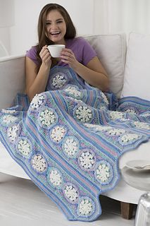 Ice Crystal Throw... Free crochet pattern!