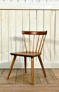 Cottage Life Sticks Chair in Cherry - Wooden Painted Chair - Oaksmith Interiors
