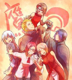 Sasusaku Family and Team Taka