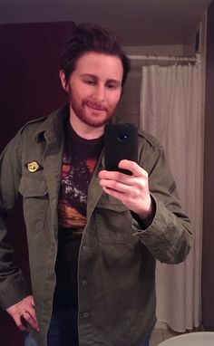 The only decent picture I have of my Charlie Kelly from It's Always Sunny in Philadephia costume
