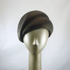 Cloche Hat for Women 1920s Fashion 1940s by TheMillineryShop, $240.00