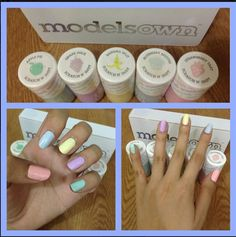 trial on our products on our soon to open spa and salon.. #nails #modelsown #scented