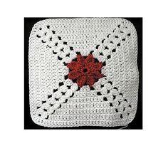 Ravelry: Pretty Petals Afghan Square pattern by Melinda Miller Crochet Square Blanket, Granny Square Afghan, Crochet Square Patterns, Crochet Squares, Crochet Motif, Knitting Patterns, Granny Squares, Crochet Blankets, Crochet Granny