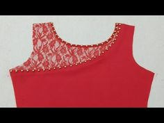 Latest Beads Neck Designs for Kurti - Kurti Blouse Salwar Kameez Neck Designs, Churidar Designs, Kurta Neck Design, Saree Blouse Neck Designs, Chudi Neck Designs, Neck Designs For Suits, Neckline Designs, Dress Neck Designs, Design Your Own Dress