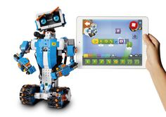 We've been waiting for this! LEGO have announced LEGO Boost, a set of programmable electronics components for kids age 7+ for the home ...