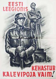 Estonia - Propaganda Posters During World War II