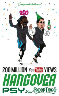 PSY - 'HANGOVER' M/V HITS 200 MILLION VIEWS