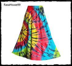 Hippie Music, Hippie Gypsy, Hippie Pants, Purple Skirt, Gypsy Skirt, Party Wear, Tie Dye Skirt, Casual Wear, Ready To Wear