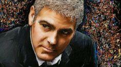 PCペイントで絵を描きました! Art picture by Seizi.N:   George Clooney 映画スターをお絵描きしてみました、そうだ思い出しました僕が学生の頃、イラストの専門学校で映画の看板を描く授業でこの技法を覚えました、久しぶりに映画スターを描いた気がします、、これから偶にはお絵描きしてみましょうね!  SOLIDEMO / Goodbye Yesterd