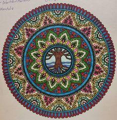 ColorIt Mandalas Volume 2 Colorist: Angela Hunter #adultcoloring #coloringforadults #mandalas #mandalastocolor