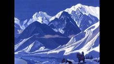 Nikolay Roerich and Lama Karta - Mantra of Mahakala Nicholas Roerich, Bergen, Belgium, Mount Everest, Mystic, Spirituality, Explore, Mountains, Winter