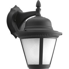 Progress Lighting P5863-LED Westport LED Outdoor Wall Sconce with White Seeded G