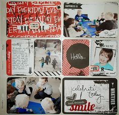 TØFF PL SIDE - DT LINDA Project Life, Baseball Cards, Day, Books, Projects, Log Projects, Libros, Blue Prints, Book