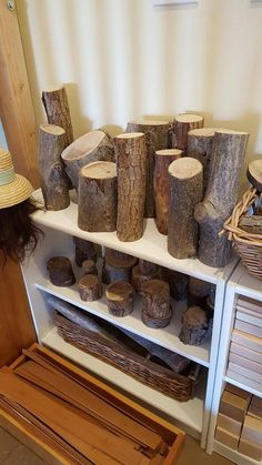 I would love to add this to my classroom environment, in place of the basic blocks. The natural blocks have different textures for children to explore as well. Reggio Classroom, Outdoor Classroom, Preschool Classroom, Classroom Decor, Kindergarten, Play Based Learning, Learning Spaces, Early Learning, Block Center