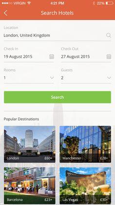 Search Hotels by Aqib Mushtaq