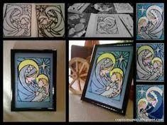 Imagini pentru desen pe sticla Frame, Home Decor, Picture Frame, Decoration Home, Room Decor, Frames, Hoop, Interior Decorating, Picture Frames