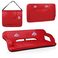 Ohio State Buckeyes Tailgating Couch - Reflex by Picnic Time