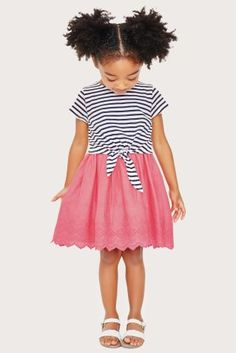 9074f8e18efc Buy Navy Pink Stripe Dress (3mths-6yrs) online today at Next