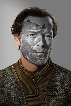 Game of Thrones. Jorah Mormont House Bear War Paint by HilaryHeffron