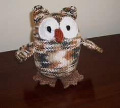 Don't like these colors but this owl is cute!