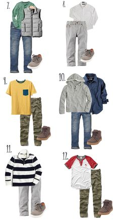 Here is the boy version of my back to school Capsule Wardrobe. Boys are so much easier. I honestly love shopping for my boys. Girl shopping...