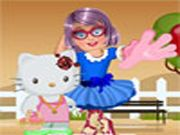 Zoe with Hello Kitty Dress Up    Hey kids! Zoe and hello kitty were planning to go to park. But they need a modish look. Kids ready to give them a perfect outfit and look? Just make use of all the items and accessories furnished to you. Make them as the center of attraction with your unique dressing ideas. Enjoy kids….. Use Mouse to interact  http://ezarcade.net/games/zoe-with-hello-kitty-dress-up/
