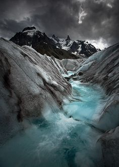 River Ice - Chamonix Mont Blanc | image by Bidot Olivier