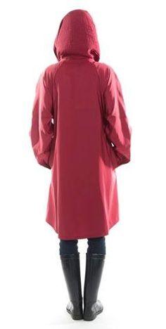 023a4a5319e00 Red Mycra Pac Donatella Raincoat