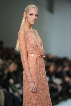 Elie Saab: Runway - Paris Fashion Week
