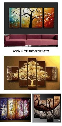 Large Hand Painted Art Paintings For Home Decoration Wall Canvas Painting