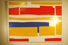 Mid Century Modern Abstract Painting