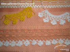 Bico de Trevos - Bicos e Barrados - Aprendendo Croche