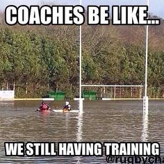 Not in FL, but in CT, for sure! #rugby #badweather #rugbygram #rugbypicture #hugerugby #rugbyculture #rugbyproblems